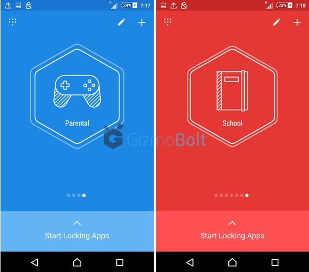 Hexlock profiles option