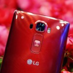 Glossy Red LG G Flex2 hands on pics – Sparkling Curve