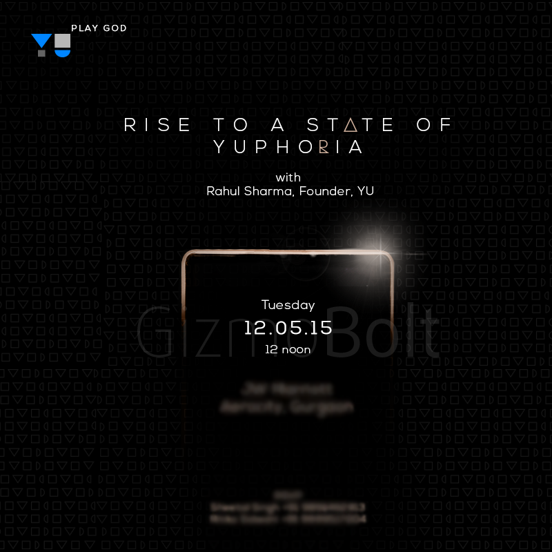 Yu Yuphoria Launch Event on 12 May