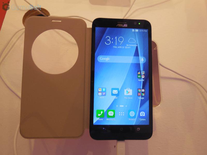 Zenfone 2 Flip Cover Review