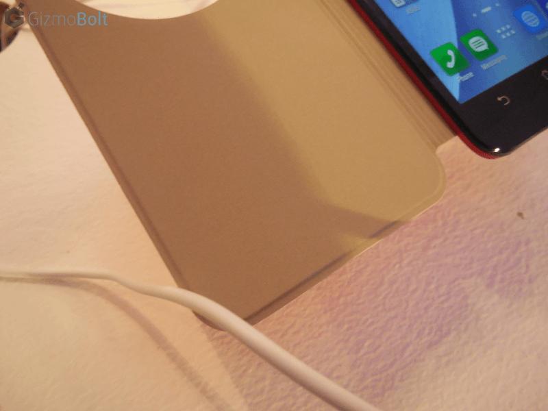 Zenfone 2 View Cover hands on