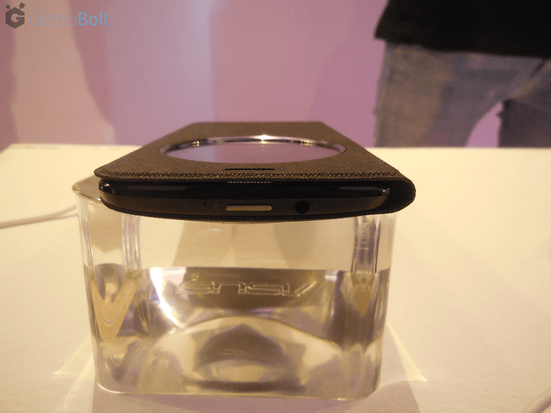 Zenfone 2 View Flip Cover Deluxe in Black
