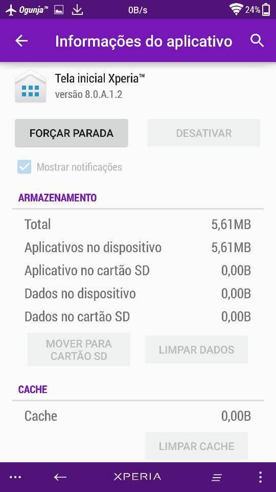 Xperia Home 8.0.A.1.2 apk