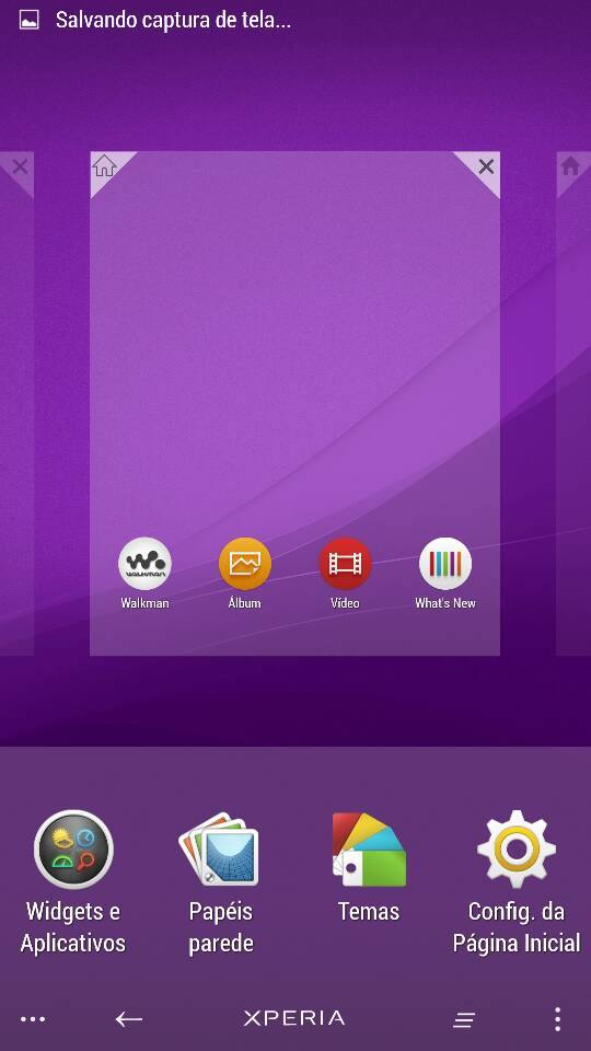 How to enable auto rotation in Xperia Home launcher
