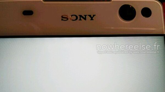Sony Lavender 5MP front camer pic leaked