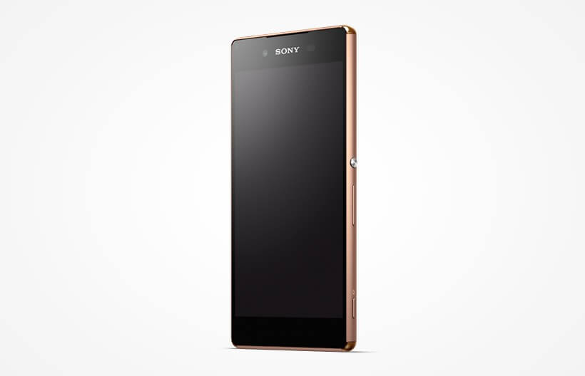 Xperia Z4 402SO in Copper color