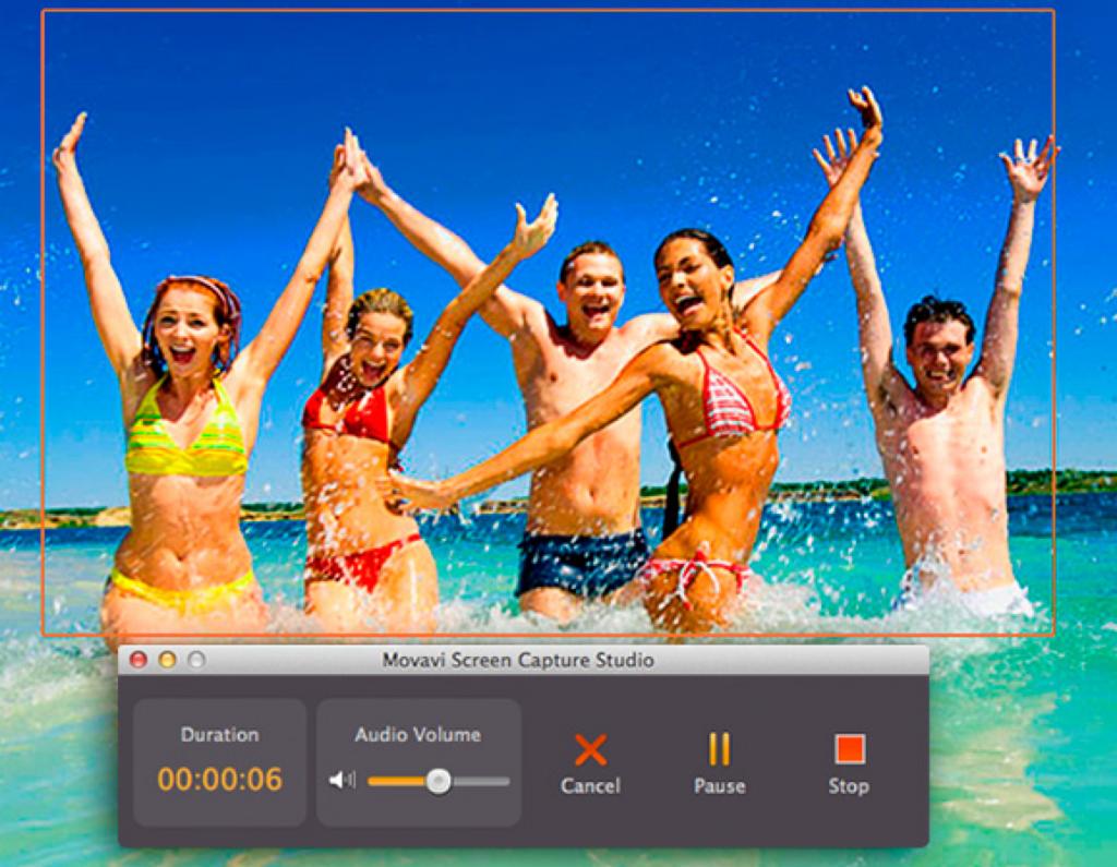 Movavi Screen Capture Studio Application