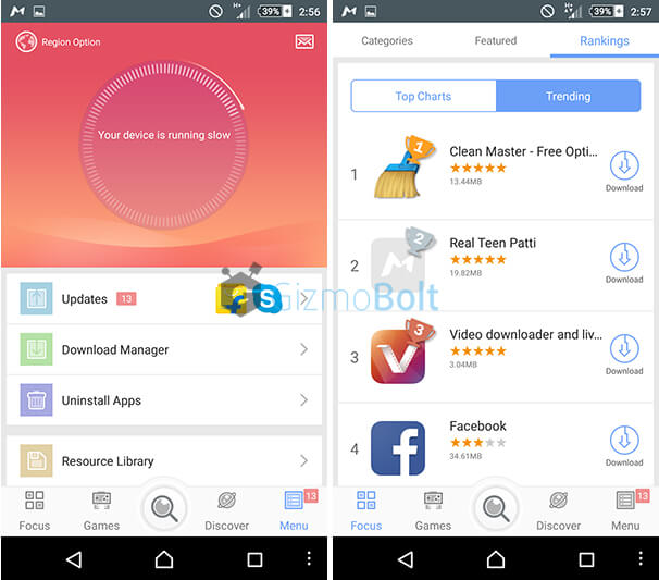 MoboMarket Android app Review