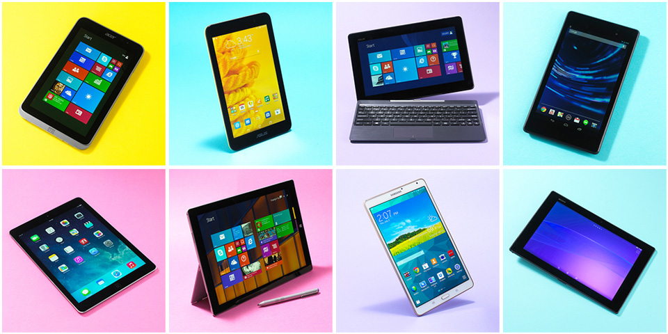 Best Tablets of 2015