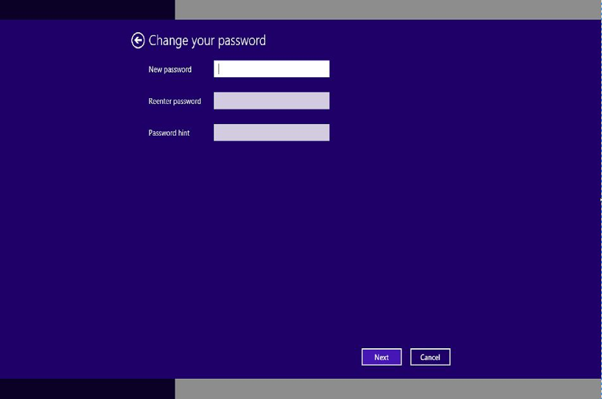 Remove login password on Windows 8
