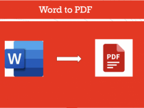 How to convert from Word to PDF in One Click