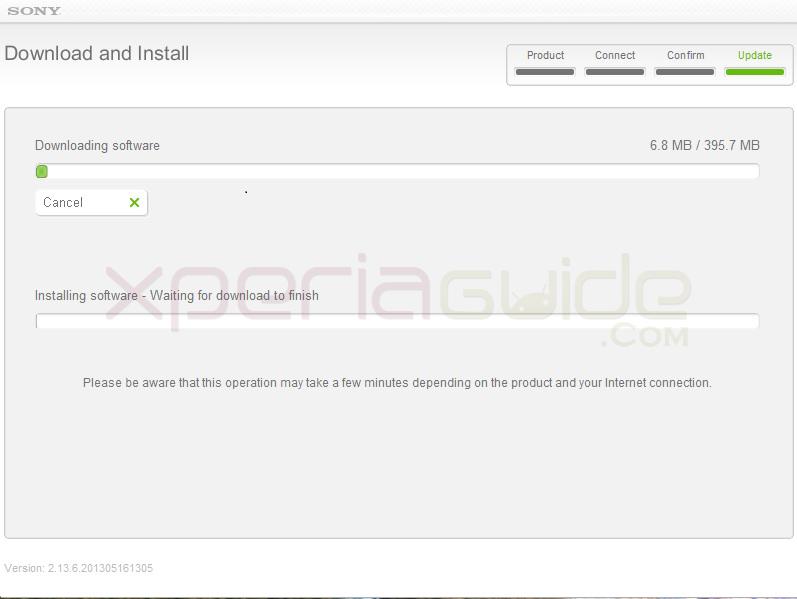 Install Update Xperia J ST26i Jelly Bean 11.2.A.0.31 firmware via Sony Update Service