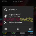On Off Tools settings in Xperia SL LT26ii Jelly Bean 6.2.B.0.200 fimrware
