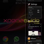 Small Apps Settings in Xperia SL LT26ii Jelly Bean 6.2.B.0.200 fimrware