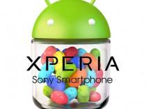 Sony Xperia Jelly Bean update