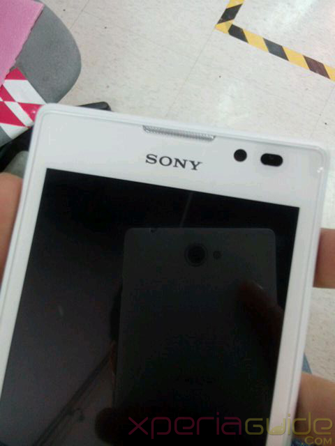 Sony Xperia S39h Model Photos Leaked Prototype