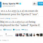 Update Xperia Z C6603 on Jelly Bean 10.1.1.A.1.253 firmware ftf file