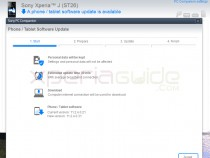 Update Xperia J ST26i Jelly Bean 11.2.A.0.31 firmware via PC Companion