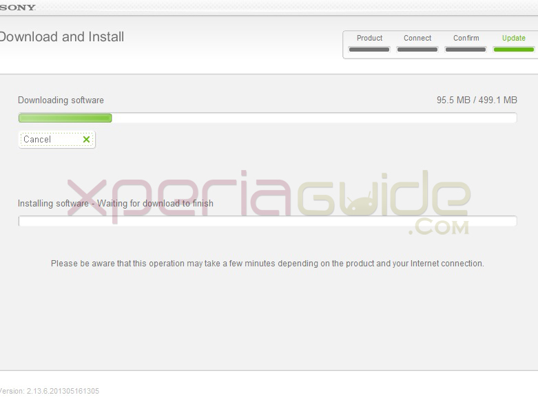 update xperia sl lt26ii to android 412 jelly bean 62b