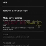Wireless Network settings in Xperia SL LT26ii Jelly Bean 6.2.B.0.200 firmware