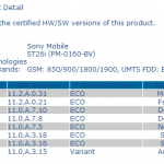 Xperia J ST26i Android 4.1.2 Jelly Bean 11.2.A.0.31 firmware Certified