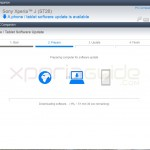 Xperia J ST26i Jelly Bean 11.2.A.0.31 firmware update via PC Companion