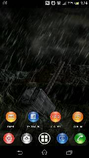 Xperia Z Jelly Bean Android 4.1.2 10.1.1.A.1.253 Home Screen