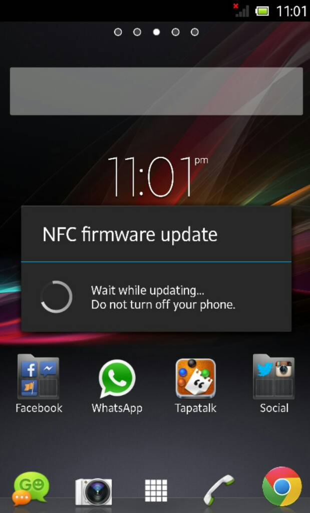 xperia z jelly bean android 4 1 2 10 1 1 a 1 253 nfc firmware update rh gizmobolt com Ice Cream Sandwich Android Android Gingerbread Logo