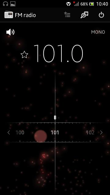 radio app of Jelly Bean 6.2.B.0.203 firmware for Xperia Ion