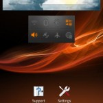 weather widget of Jelly Bean 6.2.B.0.203 firmware for Xperia Ion
