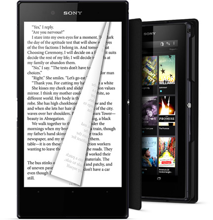 Big 6.4 inch screen in Xperia Z Ultra