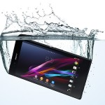 IP55 & IP58 certified, Dust and water resistance ability upto a depth of 1.5 meters in Xperia Z Ultra