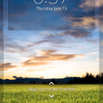New Lock Screen layout Xperia Z C6603 Android 4.2.2 Jelly Bean 10.3.X.X.XXX firmware