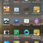 New Xperia Home Launcher in Xperia ZL C6503 Android 4.2.2 Jelly Bean 10.3.A.0.423 firmware