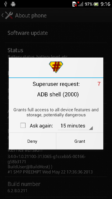 Pre-Rooted Xperia S SL Jelly Bean 6.2.B.0.211 ROM Flash via CWM recovery
