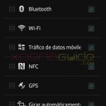 Quick Settings option in Xperia Z C6603 Android 4.2.2 Jelly Bean 10.3.A.0.423