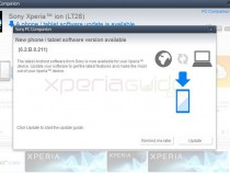 Update Xperia Ion LT28i LT28h android Jelly Bean 6.2.B.0.211 firmware via PC Companion