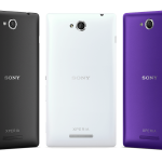 Xperia C S39h Launched with MediaTek's processor 1.2GHz Quad Core