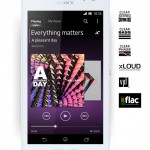 Xperia C Walkman app