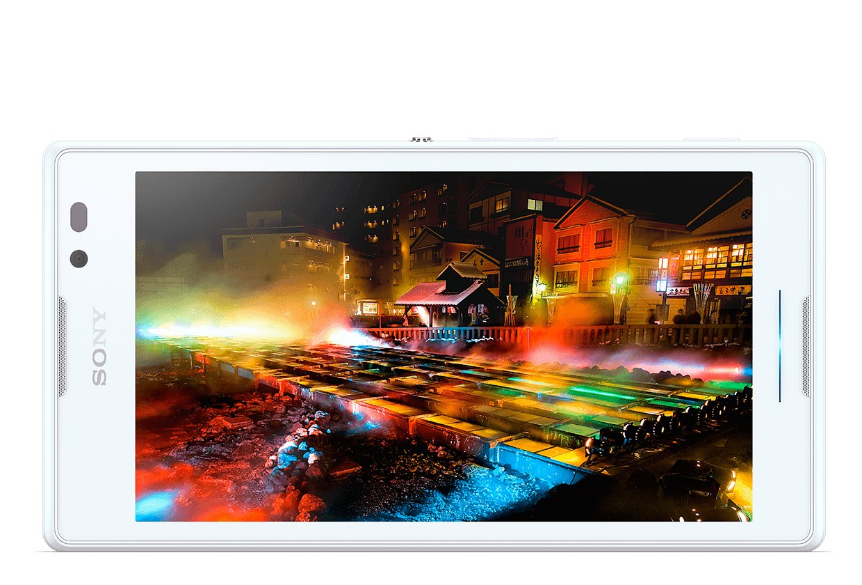Xperia C qHD screen