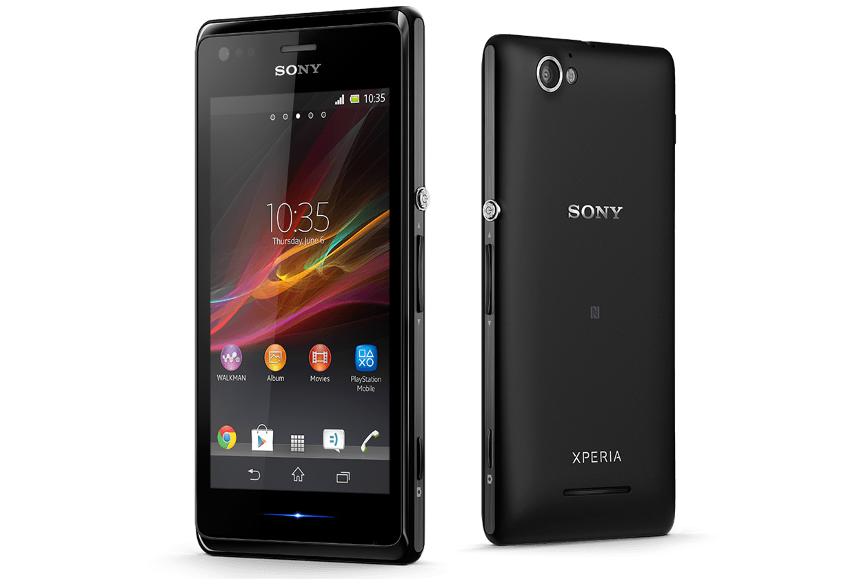 Xperia M Features Specifications
