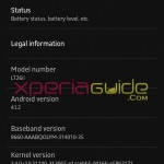 Xperia SL LT26ii Jelly Bean 6.2.B.0.211 firmware details INDIA