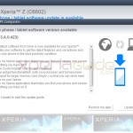 C6602 Android 4.2.2 Jelly Bean 10.3.A.0.423 firmware update via PC Companion