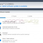 Xperia Z India C6602 Android 4.2.2 Jelly Bean 10.3.A.0.423 firmware update via PC Companion