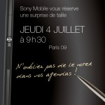 Xperia Z Ultra Photo Leaked from Sony Mobile France Press Invite in Paris on 4 July