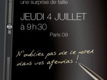 Xperia Z Ultra Photo Leaked from Sony Mobile Press Invite in France