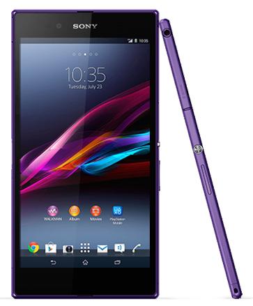 Xperia Z Ultra Purple Color