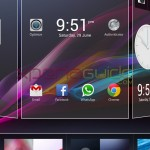 Xperia Z Ultra ZU, Xperia Honami i1 HomeScreen Android 4.2.2 Jelly Bean Themes
