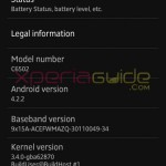Xperia ZL C6503 Android 4.2.2 Jelly Bean 10.3.A.0.423 firmware ftf
