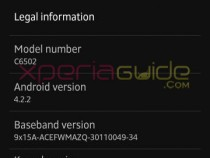Xperia ZL C6503 Android 4.2.2 Jelly Bean 10.3.A.0.423 firmware Details